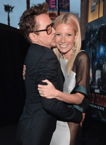 Mamacita goes to hollywood Robert Downey Jr. & Gwyneth Paltrow