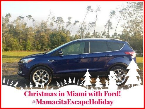 Christmas in Miami with Ford! #MamacitaEscapeHoliday