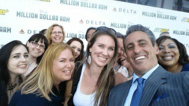 Million Dollar Arm Premiere