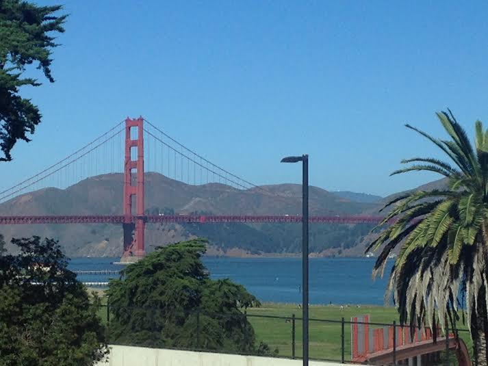 San Francisco bridge Walt Disney Family Museum