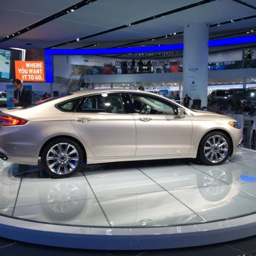 fordfusion 500x500 - North American International Auto Show - My Ultimate Car Experience with FORD