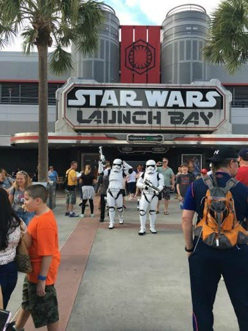 Disney's Hollywood Studios Theme Park – Star Wars The Force Attraction #ZootopiaEvent