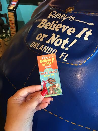 Ripley's Believe It or Not – The Weird Part of Orlando #Travel