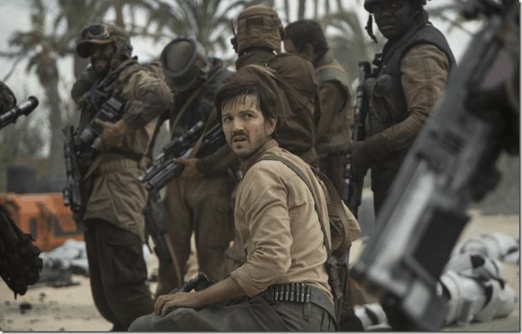 Diego Luna in Lucasfilm Star Wars
