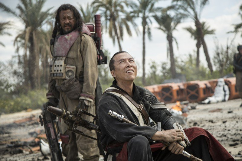Star Wars Chirrut Imwe in the Flesh – Talking Rogue One with Donnie Yen #RogueOneEvent