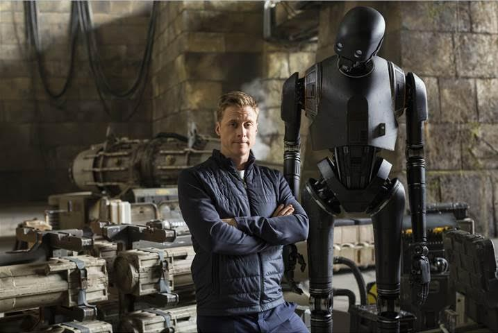 Star Wars Alan Tudyk is K-2SO – A Behind the Scenes Look at the Newest Droid #RogueOneEvent