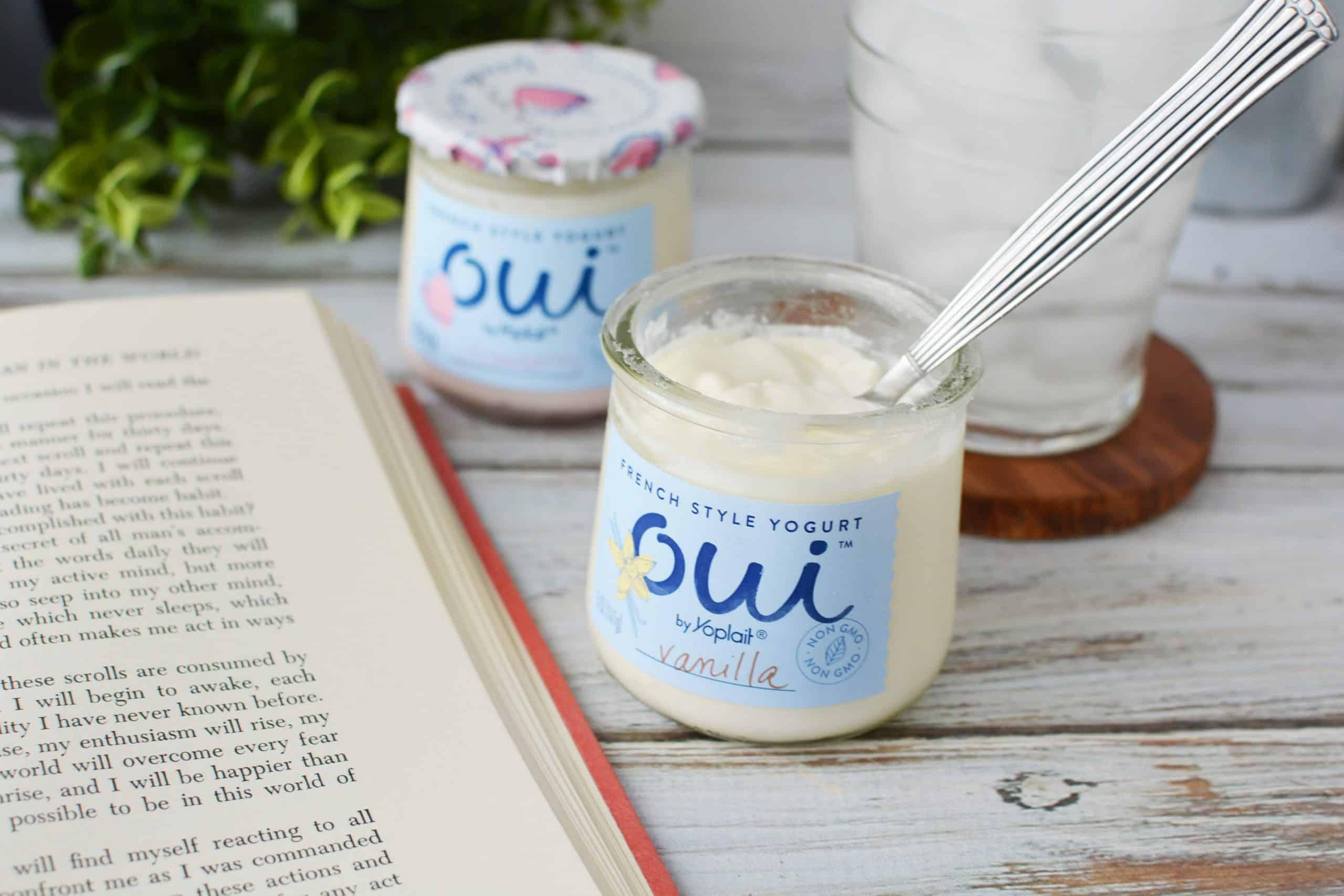 Me-Time with yoplait Oui yogurt