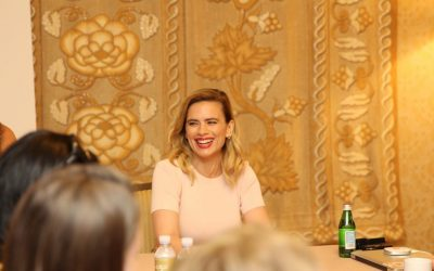 hayleyatwell3 1024x678 400x250 - Interview with Hayley Atwell from Disney's Christopher Robin