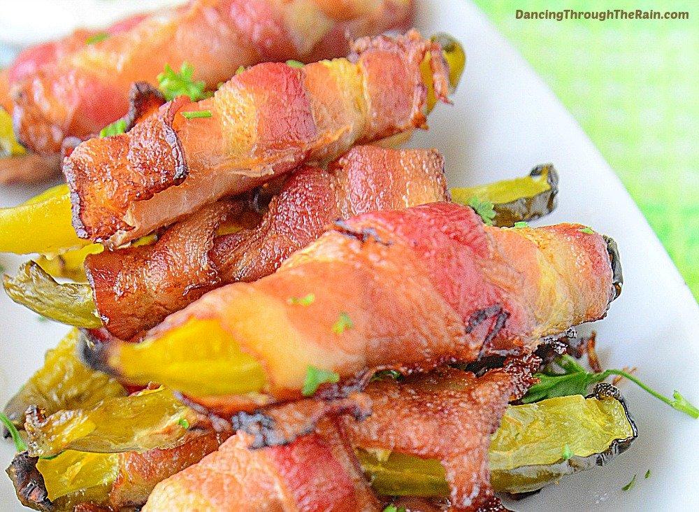 bacon wrapped pickles Homemade Keto Snacks