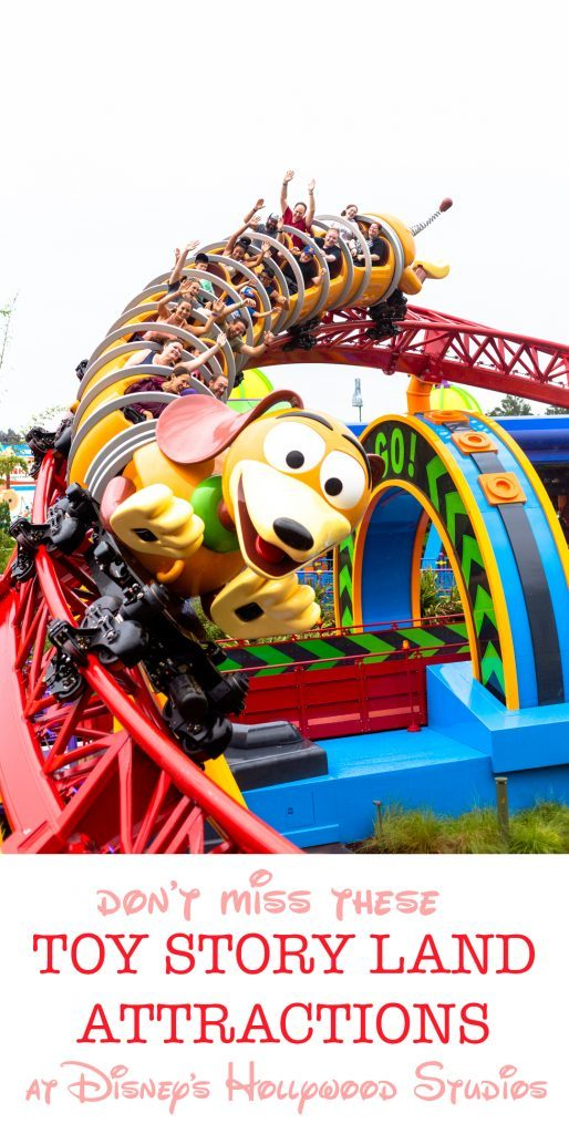 Toy story Land attraction at Disney