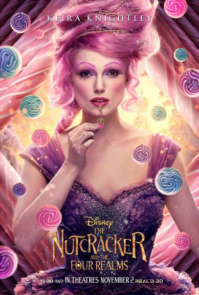 Disney The Nutcracker and the Four Realms New Posters