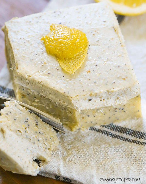 lemon poppy seed cake homemade keto snacks