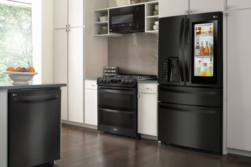 LG Matte Black Kitchen Appliances at Best Buy
