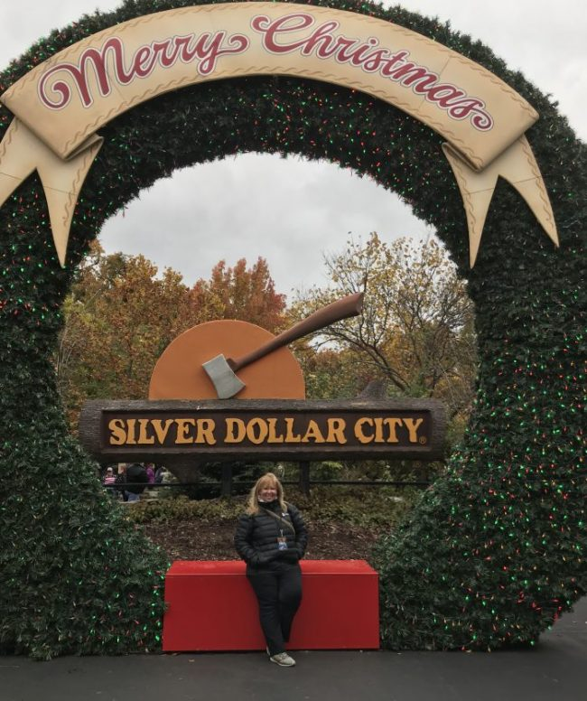 A Silver Dollar City Lights up for Christmas