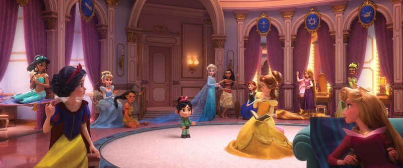 Oh My Disney! The Iconic Princess Scene in Ralph Breaks the Internet