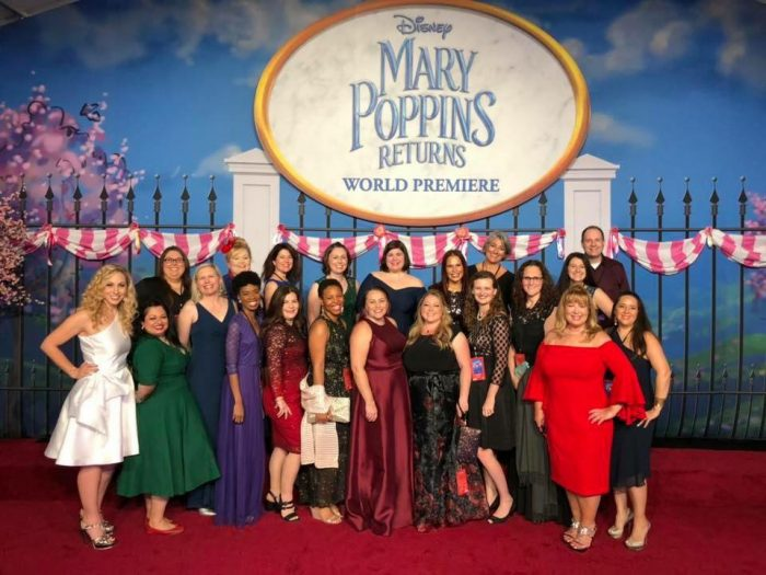 Disney Mary Poppins Returns Red Carpet Event and After Party