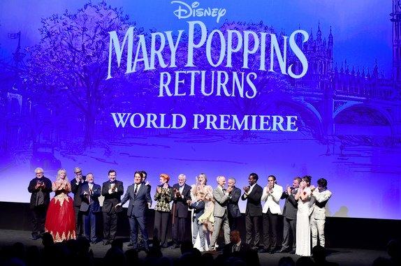 Disney Mary Poppins Returns cast