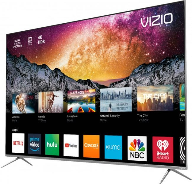 Vizio P-Series 55 Inch 4K HDR Smart TV at Best Buy