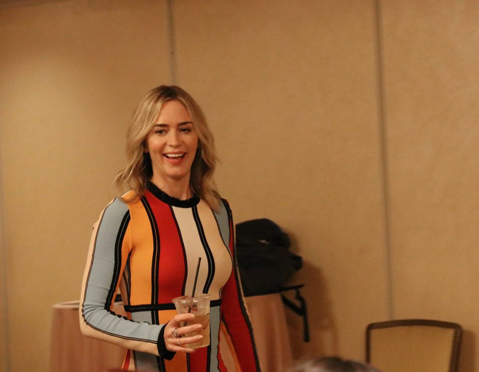 Disney Mary Poppins Returns: Emily Blunt is Mary Poppins – Exclusive Interview
