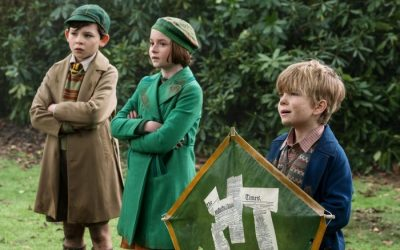 joel dawson mary poppins returns 400x250 - Disney Mary Poppins Returns - Child Actors Pixie Davies & Joel Dawson