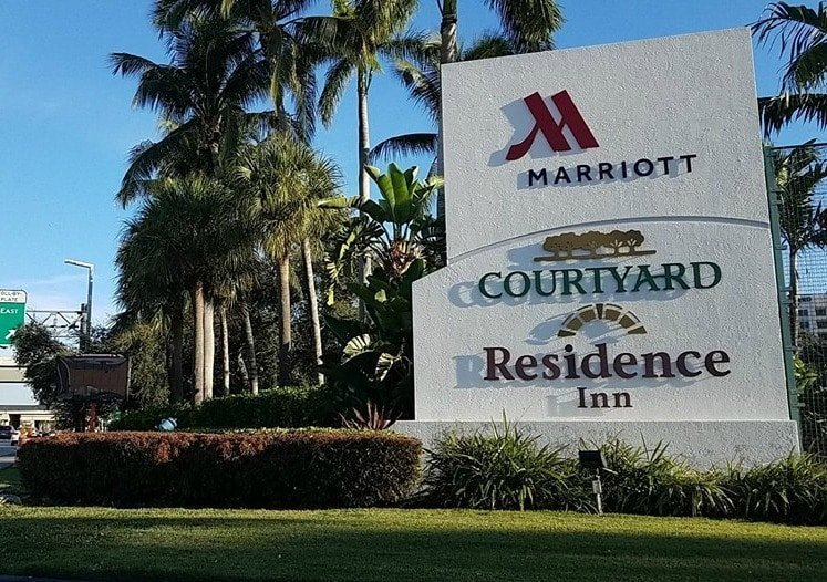 marriottmiamisign - Miami Airport Marriott Campus has Everything a Traveler Needs