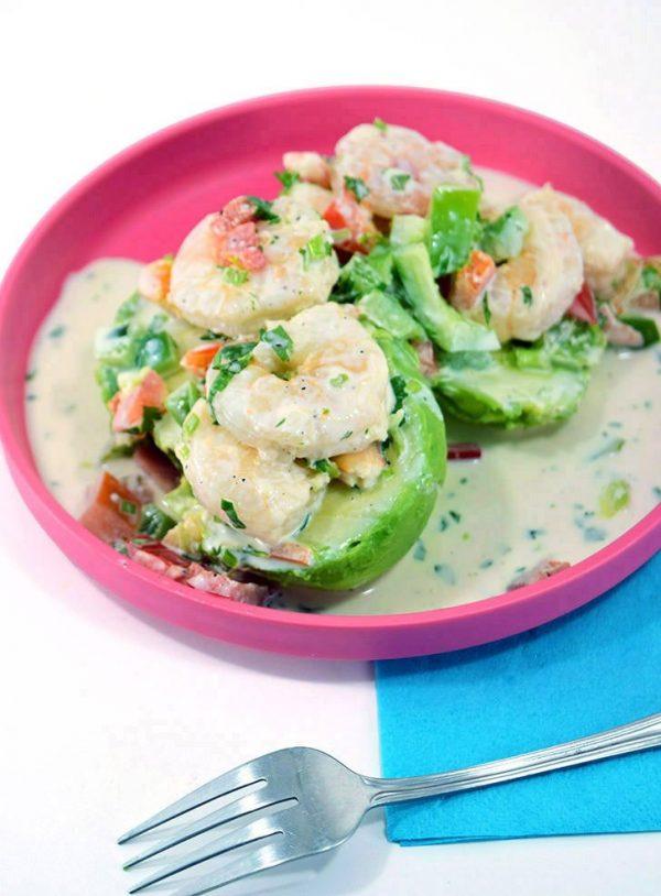 avocado chilled shrimp salad recipe dreamalittlebigger 03 e1579398718809 - 15+ Quick Avocado Recipes You Need Now