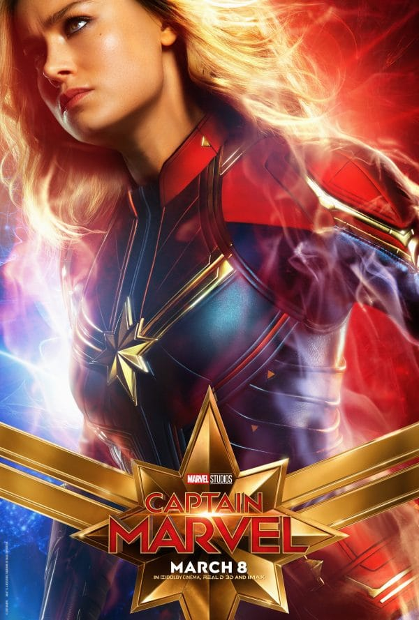 Captain Marvel Posters Just Released