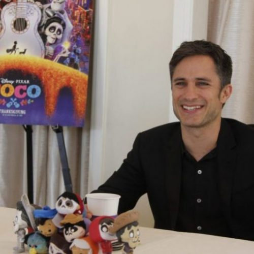 "gael4 500x500 - Gael Garcia Bernal (Voice of ""Hector"") Talks Disney Pixar COCO #PixarCOCOEvent"