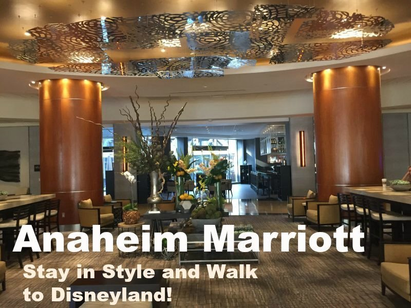 Anaheim Marriott – Stay in Style and Walk to Disneyland #TravelBrilliantly