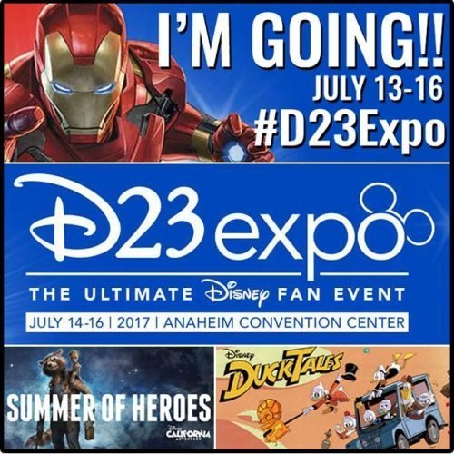 d23widget 500x500 - D23 Expo: The Ultimate Disney Fan event and I'm going!