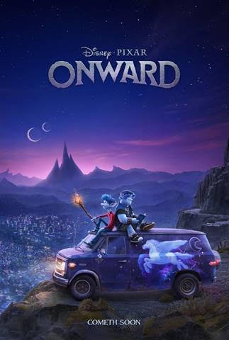 Disney and Pixar's Onward new Trailer and Posters