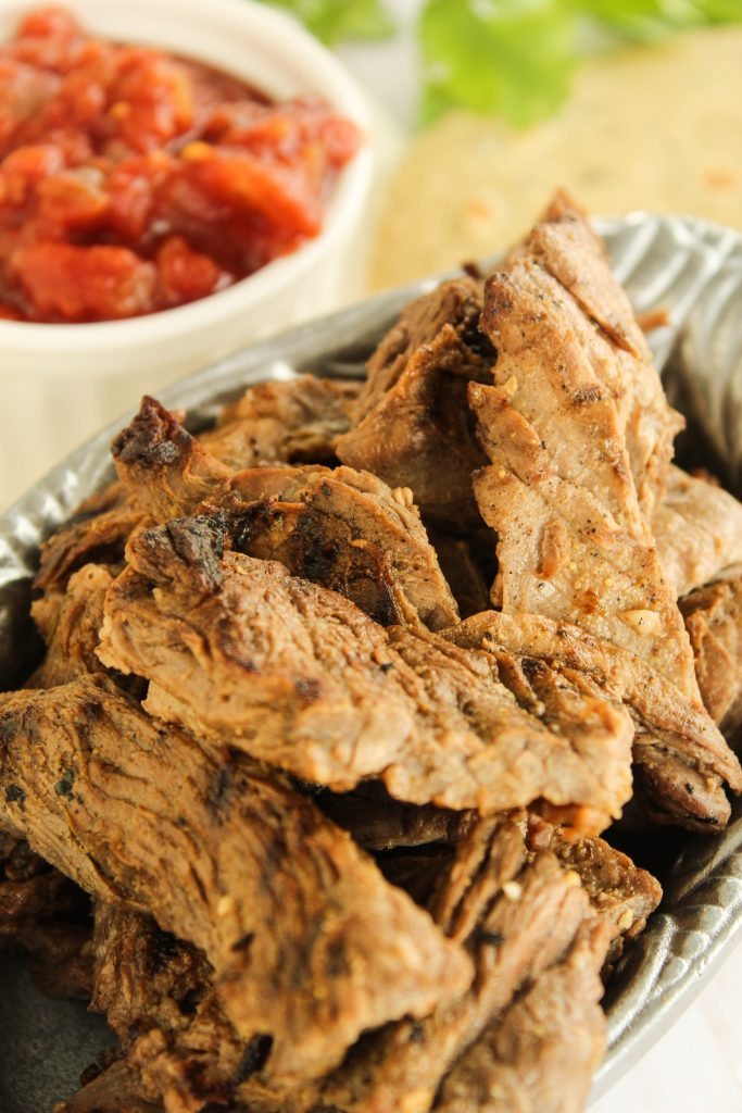 Beef Fajitas pewter