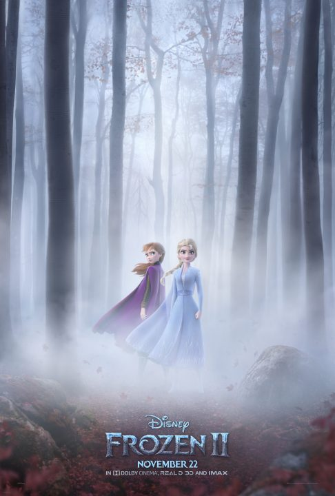 Disney Frozen 2 movie Anna and Elsa