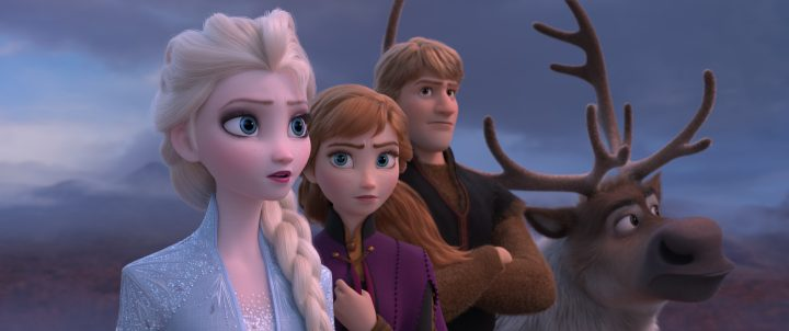 Disney Frozen movie Elsa, Anna and Hans