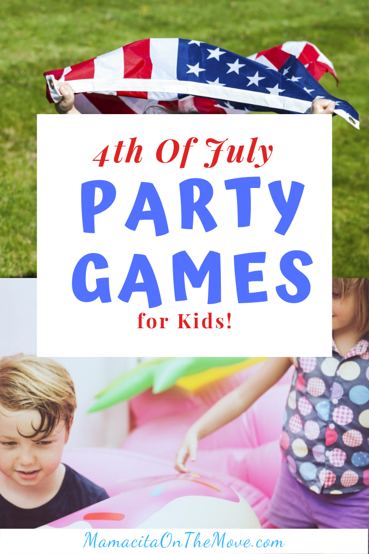Pinterest collage kids summer games