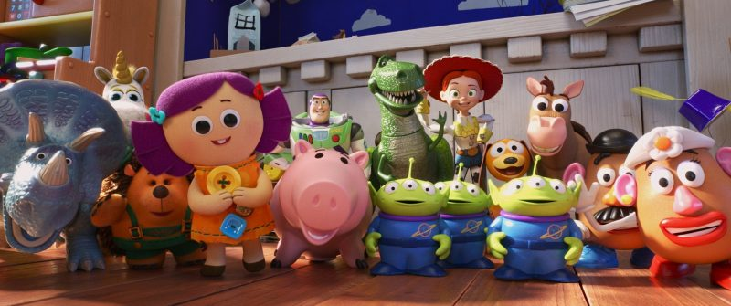 Toy story 4 all the characters