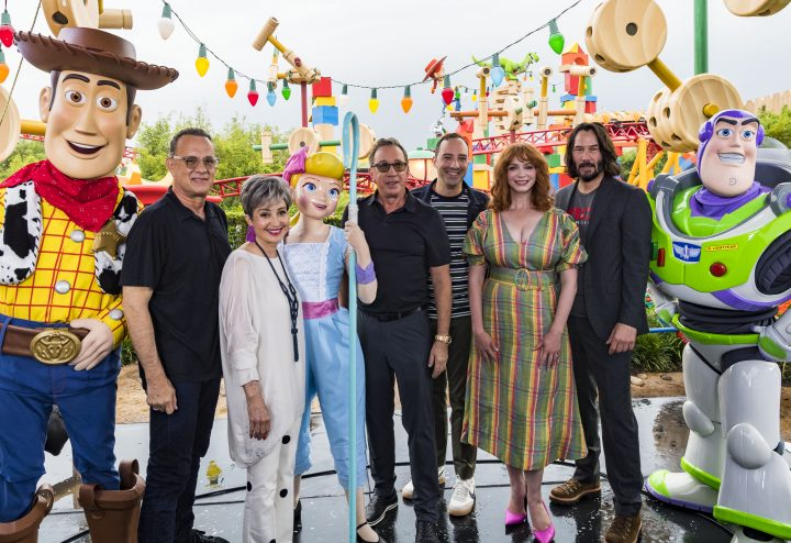 Toy Story 4 Press junket actors