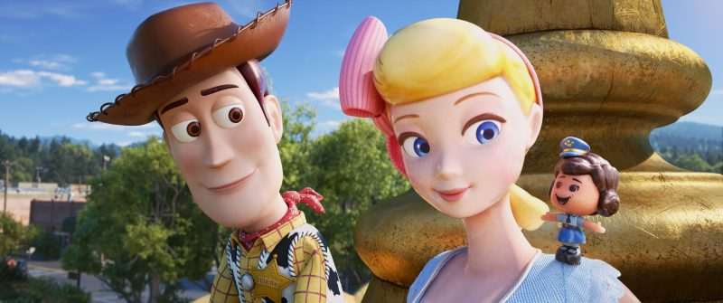 Toy story 4 Bo Peep and Woody