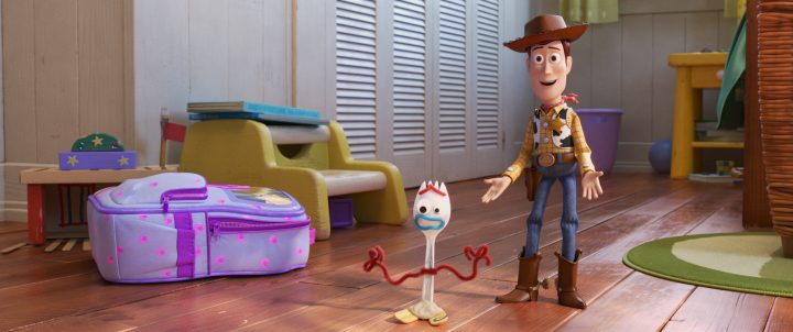 ToyStory4Forky 720x302 - Toy Story 4 Review - NO Spoilers!