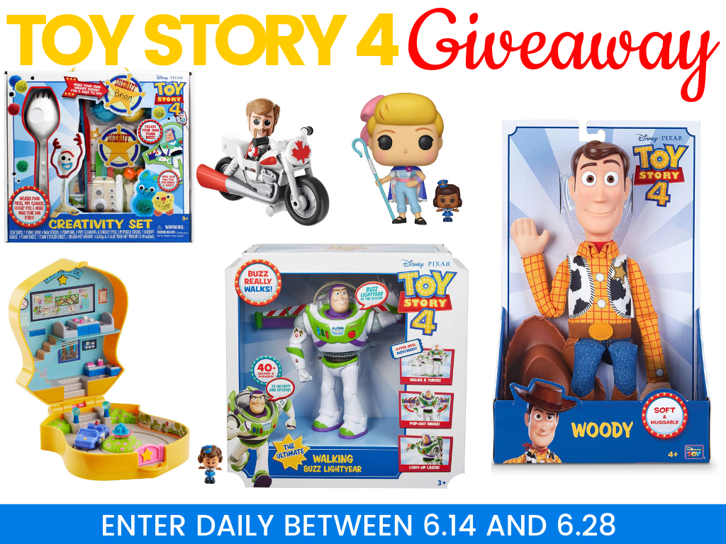 toy story 4 giveaway - Toy Story 4 Giveaway! Win a Prize Pack  $80+ Value