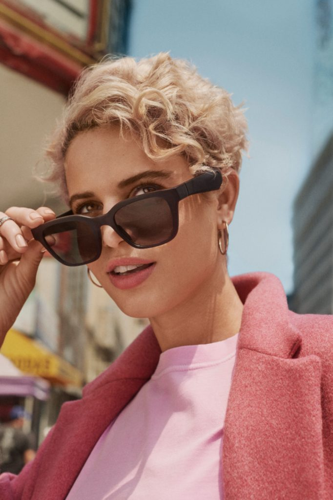 Women wearing Bose Alto sunglasses