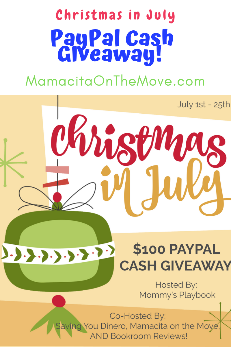 Christmas in July Giveaway! Win $100 PayPal Cash
