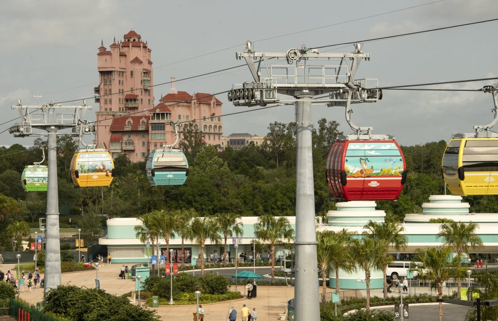 Disney Skyliner All 1024x661 - Disney Skyliner Gondolas - The Newest Disney Transportation Option