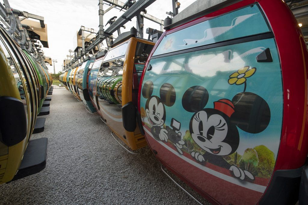 Disney Skyliner with Minnie