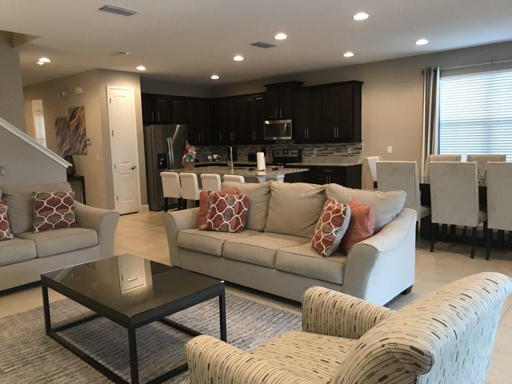 Encore resort Living Room area
