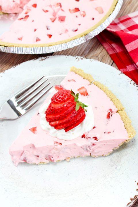 strawberry fluff pie decadent dessert recipes