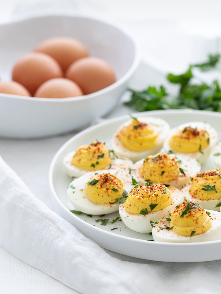 deviled eggs keto recipe