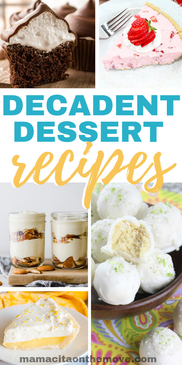 10 Decadent Dessert Recipes To Satisfy Cravings