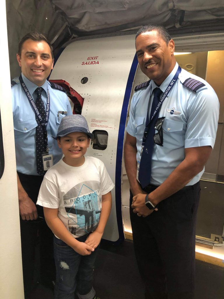 boy with pilots