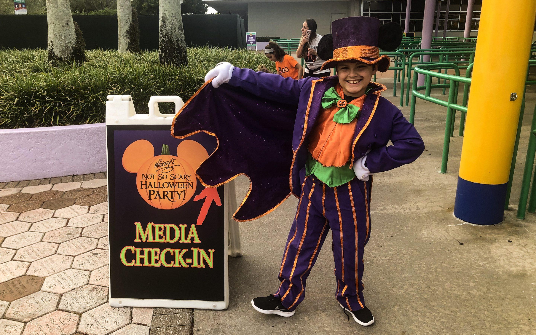 Mickey's Not So Scary Halloween Party at Disney